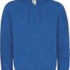 (PS) (01.0647) – B&C Hooded Full Zip men [royal blue] (Front) (1)