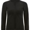 (PS) (01.0937) – B&C Hooded Softshell women [black] (Front) (1)