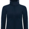 (PS) (01.0937) – B&C Hooded Softshell women [navy] (Front) (1)