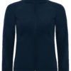 (PS) (01.0937) – B&C Hooded Softshell women [navy] (Front) (2)