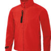 (PS) (01.0951) – B&C X-Lite Softshell men [deep red] (Front) (1)
